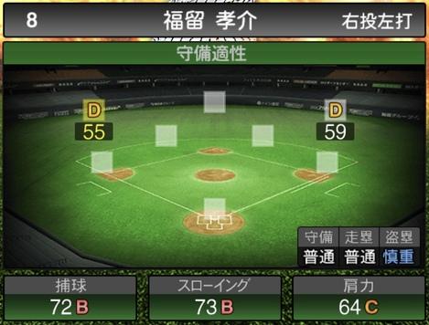 福留孝介2020シリーズ1の守備評価