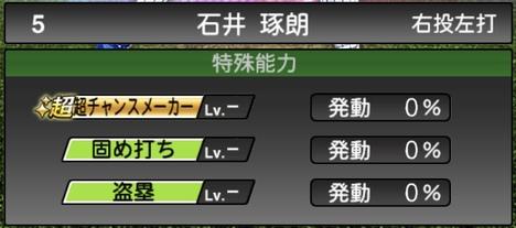 プロスピA石井琢朗TS2020シリーズ1特殊能力評価